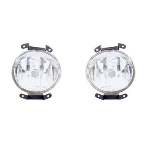CarLights360: For Hyundai Accent Fog Light 2000 2001 2002 Pair Driver and Passenger Side HY2592110   HY2593110