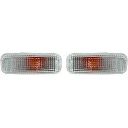 CarLights360: For Mercedes-Benz ML55 AMG Side Marker Light 2000 2001 R=L w/ Bulbs DOT Certified For MB2570101 | MB2570101