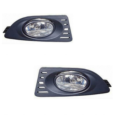 For Acura RSX 2005-2006 Foglight Assembly w/Kit Pair Driver and Passenger Side AC2591100
