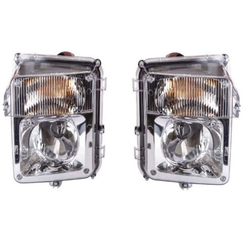 CarLights360: For Cadillac SRX Fog Light 2004-2009 Pair Driver and Passenger Side | w/ Bulbs | GM2592158 + GM2593158
