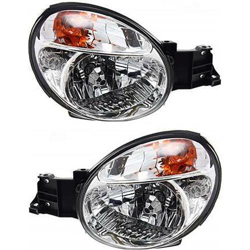For 2002 2003 Subaru Impreza Headlight Performance Pair replaces 0; SU2505100