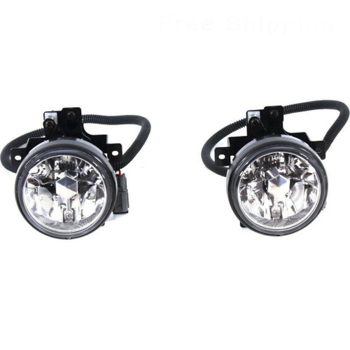 CarLights360: For 2005 2006 HONDA ELEMENT Fog Light Assembly R=L Single Piece w/Bulbs - Replacement for HO2590115