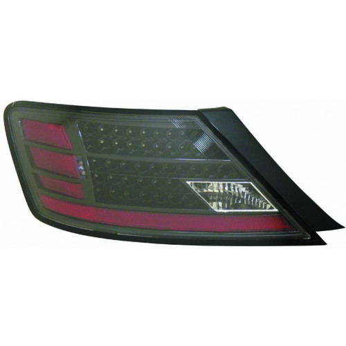 KarParts360 Fits Chevy SUBURBAN 00-06 Tail Light Assembly LED Black SET Passenger Side Replaces GM2811199
