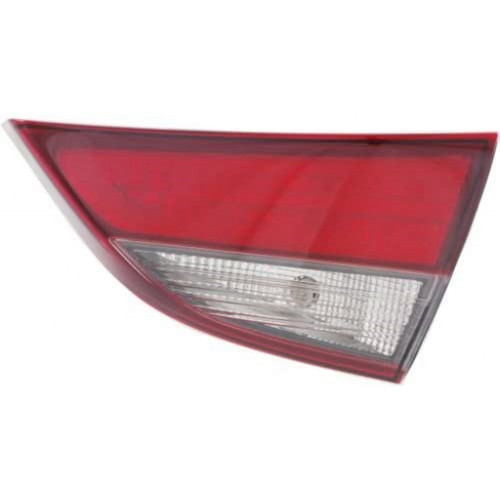 For: Hyundai ELANTRA 14-16 Inner Tail Light Assembly W/BULB Type USA BLT CAPA Passenger Side Replaces HY2803128