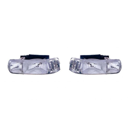 CarLights360: For 2001 2002 2003 2004 2005 Chevy Tahoe Head Light Assembly - Replacement for GM2505108