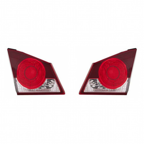 CarLights360: For Acura CSX Back Up Tail Light 2006 2007 Pair Driver and Passenger Side Replaces AC2886101 + AC2887101