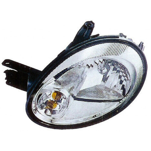 For Dodge Neon Headlight 2003 2004 2005 Driver Side Bulbs Included CH2502162 - Replaces 5303551AL
