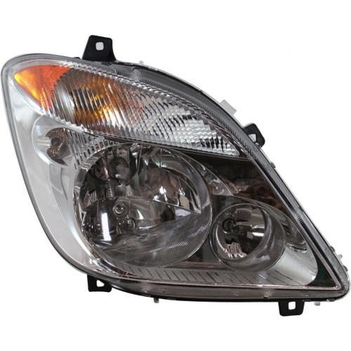 CarLights360: For 2010 2011 2012 2013 Mercedes-Benz Sprinter 3500 Headlight Assembly DOT Certified w/Bulbs Halogen
