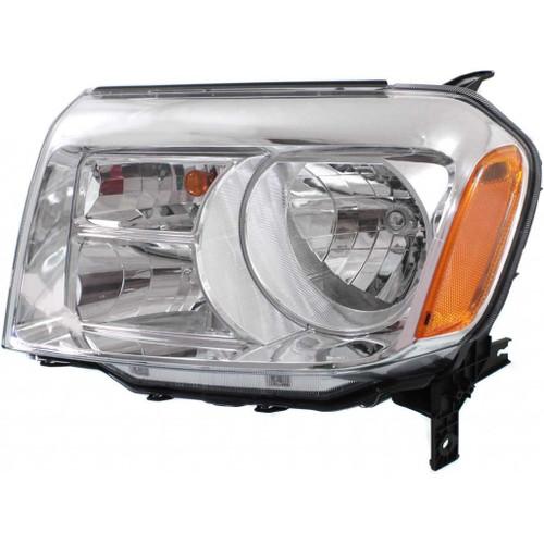 For Honda Pilot 2012-2014 Headlight Assembly CAPA Certified (CLX-M1-316-1166L-AC-PARENT1)