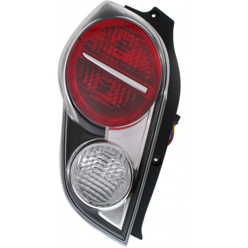 For Chevy Spark 2013-2015 Tail Light Assembly Driver and Passenger Side Pair CAPA Certified