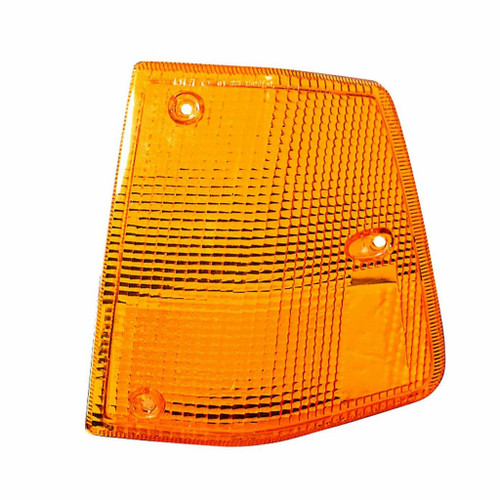 For Volvo Wiaes/Wia Signal Light 1988-1997 Driver Side Yellow Lens Only Integral Aero Sleeper For WH2554100   1114973 (CLX-M0-00-373-1506LS-Y-CL360A55)