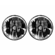 KC HiLiTES 07-18 Jeep JK (Not for Rubicon/Sahara) 7in. Gravity LED DOT Headlight (Pair Pack System)