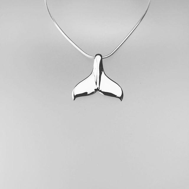 whale tail pendant