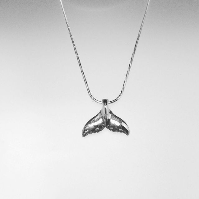 Whale Tail Pendant 1896
