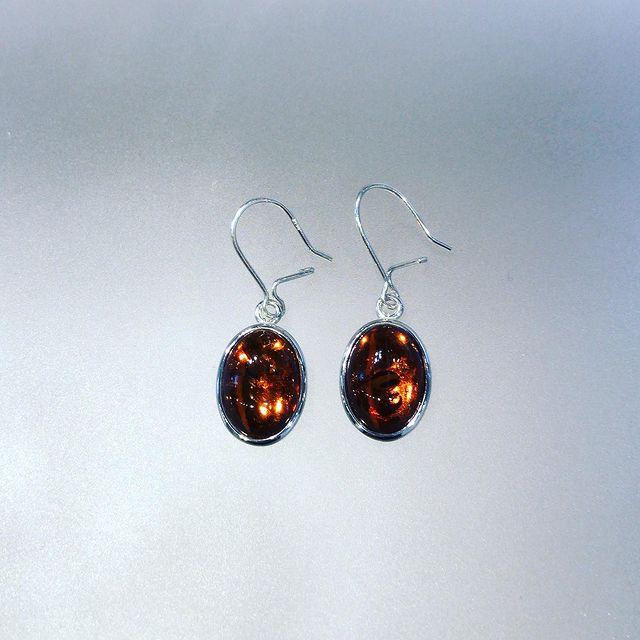 Amber Earrings 1424