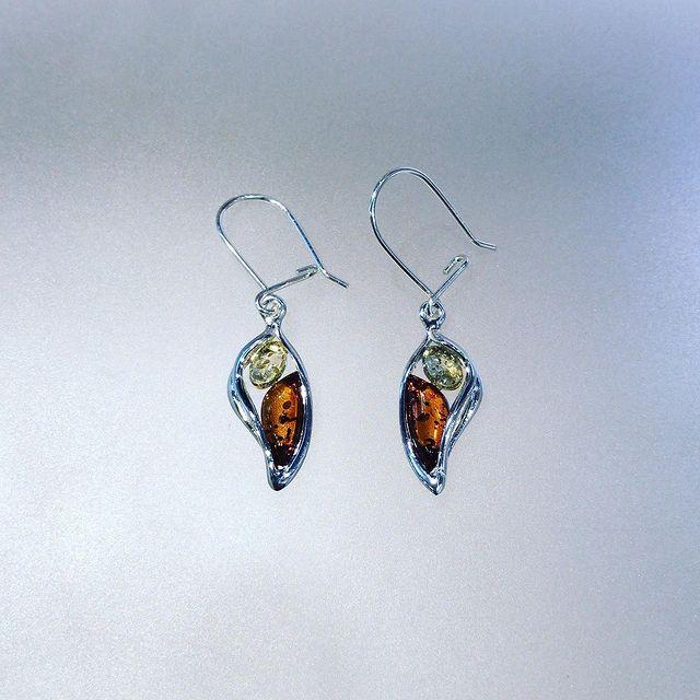 Mix Amber Earrings 1423