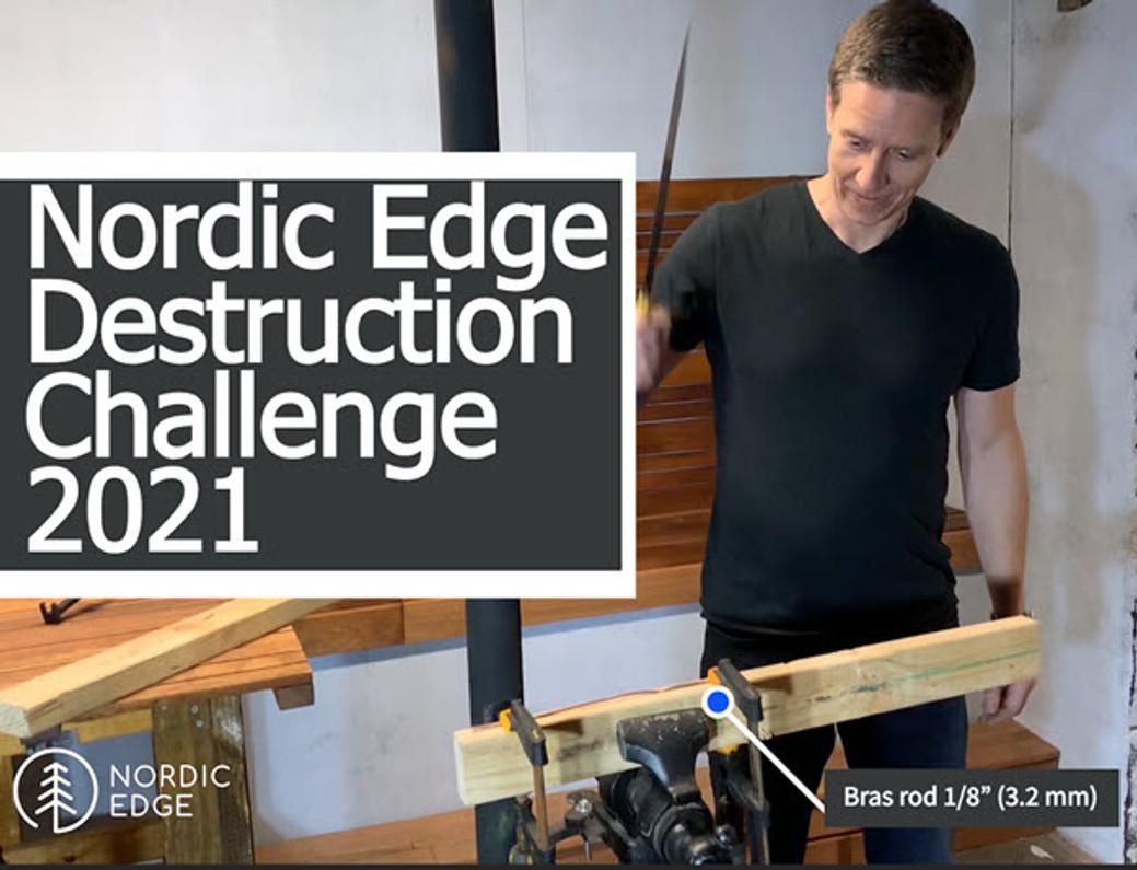 2021 Nordic Edge Destruction Challenge Heads-up