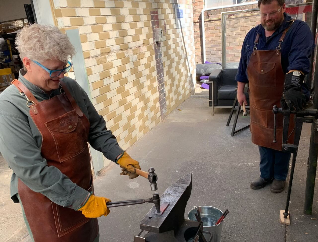 Blacksmithing Introduction Workshop Pictures