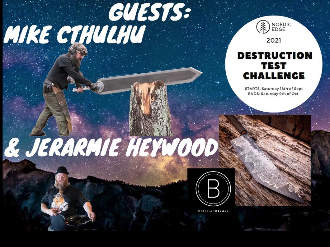 NOW LIVE: 2021 Destruction Test Challenge: 18th of Sept - 9th of October 2021