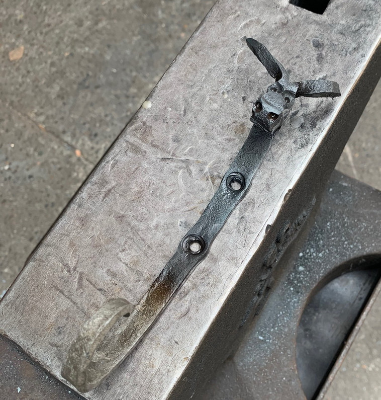 How to get a good finish on forged items?
