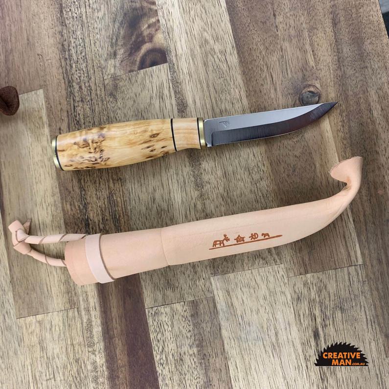 Polar 95 Stainless Puuko - Finnish belt knife