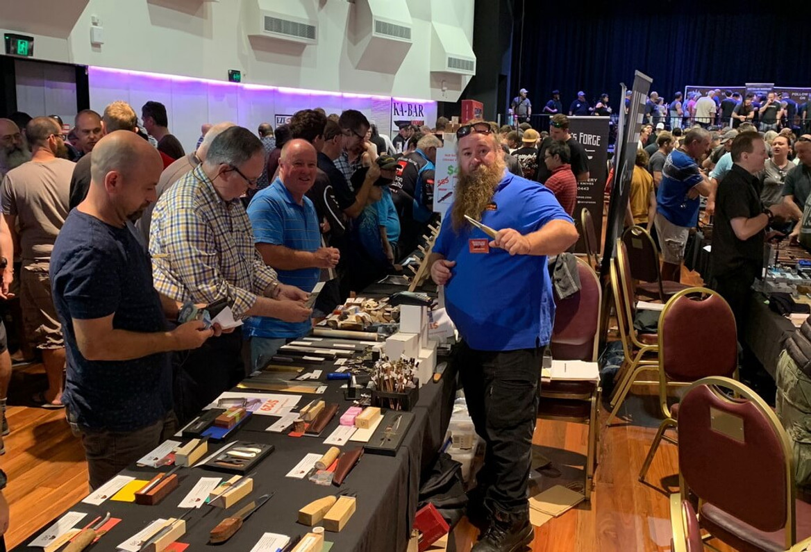 Road Trip Report: First Ever QLD Knife Show