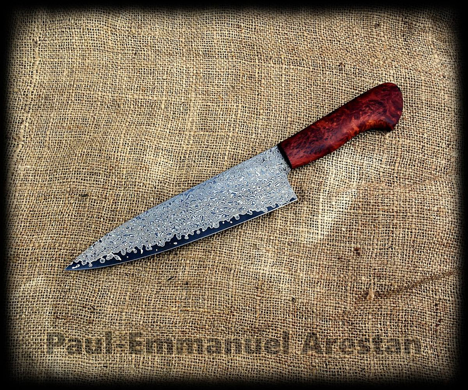 Chef knife by Paul E Arestan