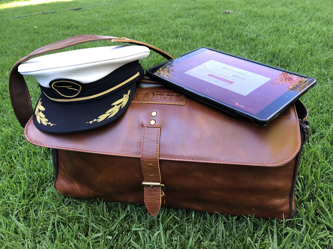 Going places - show us your bag!