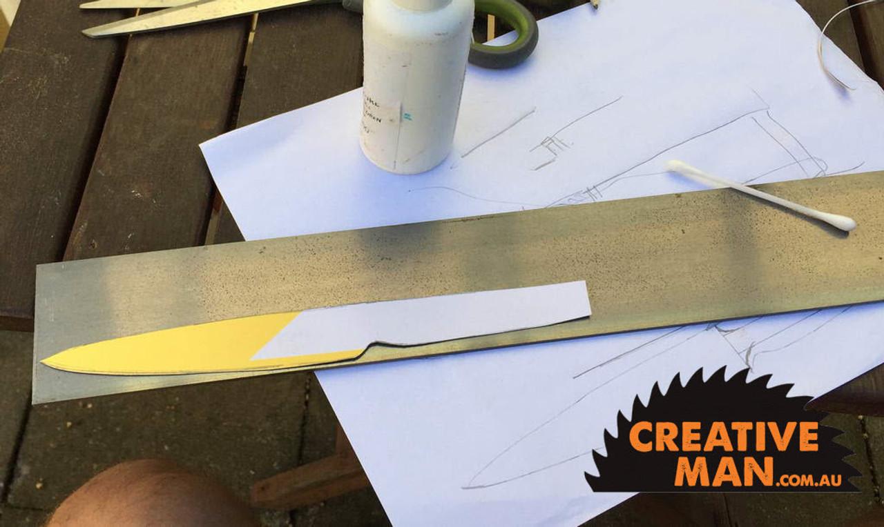 Basic Knife Making Kit, 12c27 Stainless Steel