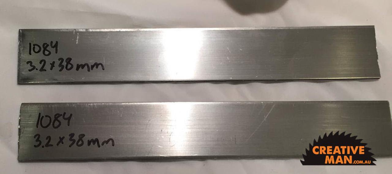Carbon Knife Steel 1084, 3 2 x 38 x 500 mm