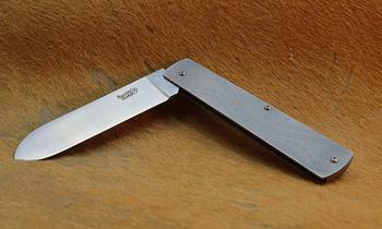 Emu Walking Folding Knife, 14C28N Stainless