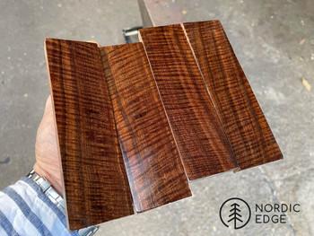 Ringed Gidgee Hande Scales x 2, Exhibition Grade