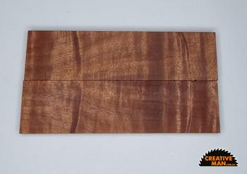 Queensland Maple Handle Scales x 2