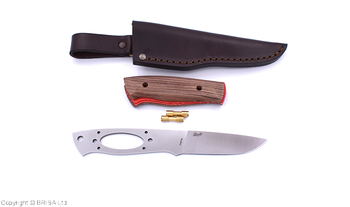 Brisa Trapper Knife Kit 95, Flat Grind, ELMAX steel