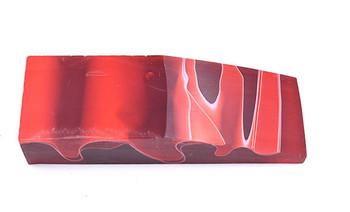 Acrylic Handle Block, Red Rose