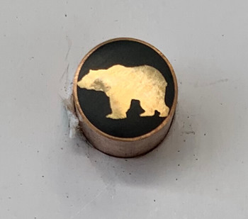 Mosaic Pin, 8 mm, BEAR