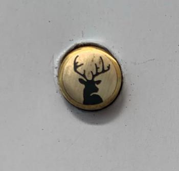 Mosaic Pin, 8 mm, HUNTING