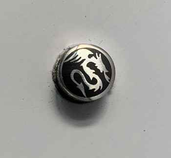 Mosaic Pin, 8 mm, DRAGON