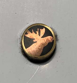 Mosaic Pin, 8 mm, MOOSE