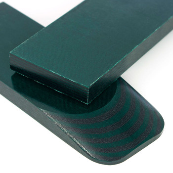 Micarta Handle Scales Turtle Black-Green