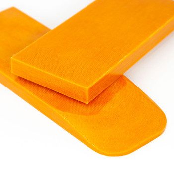 Micarta Handle Scales Apelsin Orange