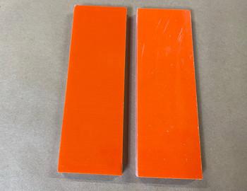 G10 Orange, Handle Scales 8 mm