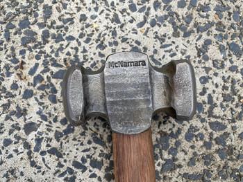 Rounding Hammer, 3.5 LBS, Plane Old Iron