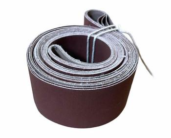 """Aluminum Oxide Belts, 2 x 72"""" (240 grit), 5-pack"""
