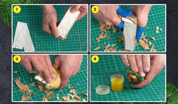 Beginner Woodcarving Kit - Comfort Bird