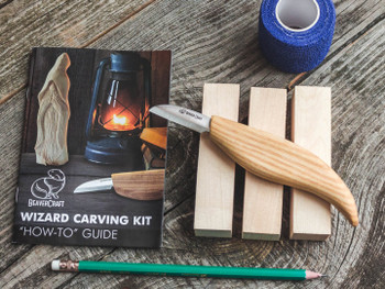 Advanced Woodcarving Kit - Wizard