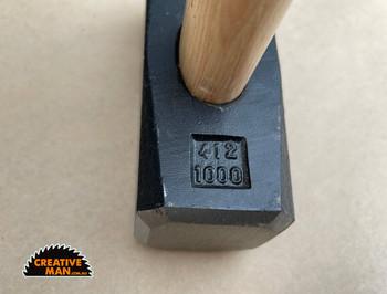 Peddinghaus Blacksmith Hammer, 1000 g (2.2 lbs)