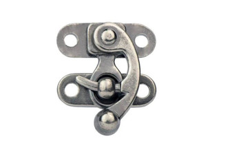 Swing Bag Clasp, Antique Finish, 30 x 35 mm (2-pack)