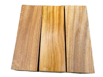 Canarywood Handle Scales x 2