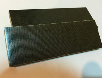 Green Canvas Micarta Handle Scales x 2 (6.8 mm)